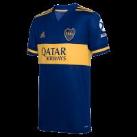 20/21 Boca Juniors Home Blue Soccer Jerseys Shirt(Player Version)