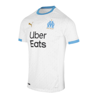 20/21 Marseille Home White Jerseys Shirt(Player Version)