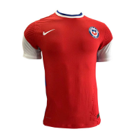 2020 Chile Home Red Soccer Jersey Shirt(Player Version)