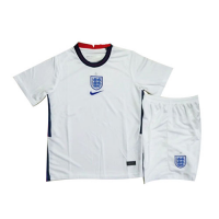 2020 England Home White Children's Jerseys Kit(Shirt+Short)