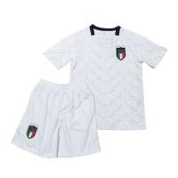 2020 Italy Away White Children's Jerseys Kit(Shirt+Short)