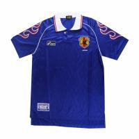 2006 World Cup Japan Home Blue Retro Soccer Jerseys Shirt