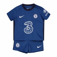 20/21 Chelsea Home Blue Children's Jerseys Kit(Shirt+Short)
