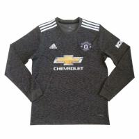 20/21 Manchester United Away Black Long Sleeve Jerseys Shirt