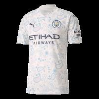 20/21 Manchester City Third Away White Jerseys Shirt(Player Version)