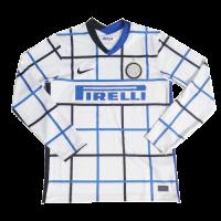 20/21 Inter Milan Away White Long Sleeve Jersey Shirt