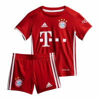 20/21 Bayern Munich Home Children's Jerseys Kit(Shirt+Short)
