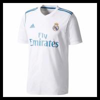 17/18 Real Madrid Home White Retro Jerseys Shirt