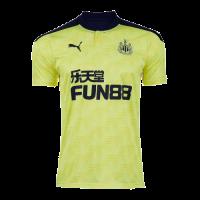 20/21 Newcastle United Away Yellow Soccer Jerseys Shirt