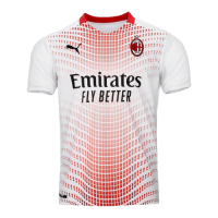 20/21 AC Milan Away White Soccer Jerseys Shirt