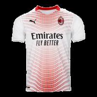 20/21 AC Milan Away White Soccer Jerseys Shirt