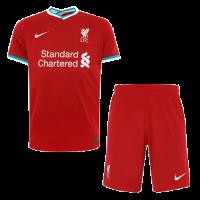 20/21 Liverpool Home Red Soccer Jerseys Kit(Shirt+Short)