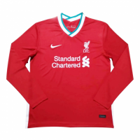 20/21 Liverpool Home Red Long Sleeve Jerseys Shirt