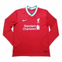 20/21 Liverpool Home Red Long Sleeve Jerseys Shirt