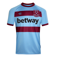 20/21 West Ham United Away Blue Soccer Jerseys Shirt