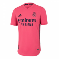 20/21 Real Madrid Away Pink Soccer Jerseys Shirt(Player Version)