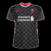 20/21 Liverpool Third Away Black Soccer Jerseys Shirt