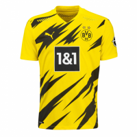 20/21 Borussia Dortmund Home Yellow Soccer Jersey Shirt(Player Version)