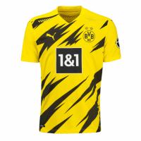 20/21 Borussia Dortmund Home Yellow Soccer Jersey Shirt(Player Version)