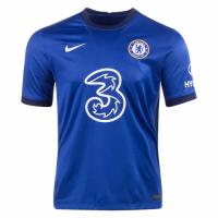 20/21 Chelsea Home Blue Soccer Jerseys Shirt(Player Version)