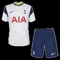 20/21 Tottenham Hotspur Home White Soccer Jerseys Kit(Shirt+Short)