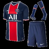 20/21 PSG Home Navy&Red Soccer JerseysWhole Kit(Shirt+Short+Socks)