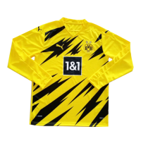 20/21 Borussia Dortmund Home Yellow Long Sleeve Jerseys Shirt