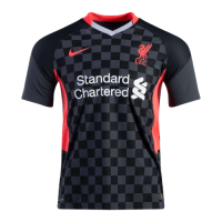 20/21 Liverpool Third Away Black Soccer Jerseys Shirt(Player Version)