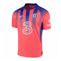 20/21 Chelsea Third Away Red Soccer Jerseys Shirt