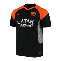 20/21 Roma Away Black&Orange Soccer Jerseys Shirt