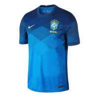 2020 Brazil Away Blue soccer Jerseys Shirt(Player Version)