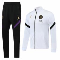 20/21 Jordan PSG White High Neck Collar Training Kit(Jacket+Trouser)