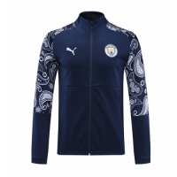 20/21 Manchester City Navy High Neck Collar Training Jacket