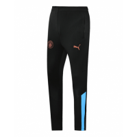 20/21 Manchester City Black&Light Blue Training Trouser