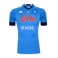 20/21 Napoli Home Blue Soccer Jerseys Shirt
