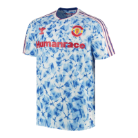 Manchester United Human Race Blue Soccer Jerseys Shirt