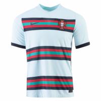 2020 Portugal Away Light Blue Jerseys Shirt