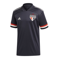 20/21 Sao Paulo Third Away Black Soccer Jerseys Shirt