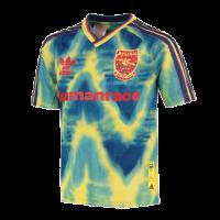 Arsenal Human Race Blue&Green Soccer Jerseys Shirt