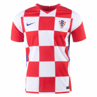 20/21 Croatia Home Red&White Jerseys Shirt