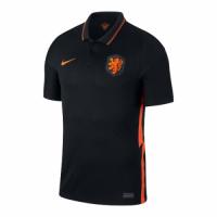 2020 Netherlands Away Black Soccer Jerseys Shirt