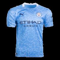 20/21 Manchester City Home Blue Jerseys Shirt