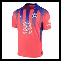 20/21 Chelsea Third Away Red Soccer Jerseys Shirt