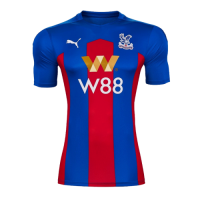 20/21 Crystal Palace Home Blue&Red Soccer Jerseys Shirt