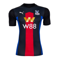 20/21 Crystal Palace Third Away Red&Blue&Black Soccer Jerseys Shirt