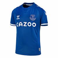 20/21 Everton Home Blue Soccer Jersey Shirt