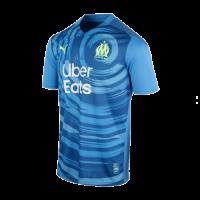 20/21 Marseille Third Away Blue Jerseys Shirt