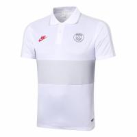 20/21 PSG Grand Slam Polo Shirt-White&Gray