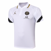 20/21 Jordan PSG Grand Slam Polo Shirt-White