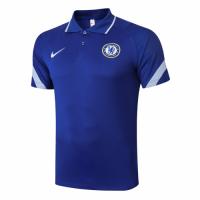 20/21 Chelsea Grand Slam Polo Shirt-Blue